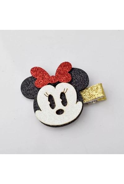 Şirin Şeyler Butiği Toka Mini Mouse Simli 0 - 5 Yaş