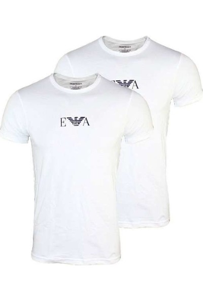 Emporıo Armani Erkek 2'li T-Shirt 111267-04710