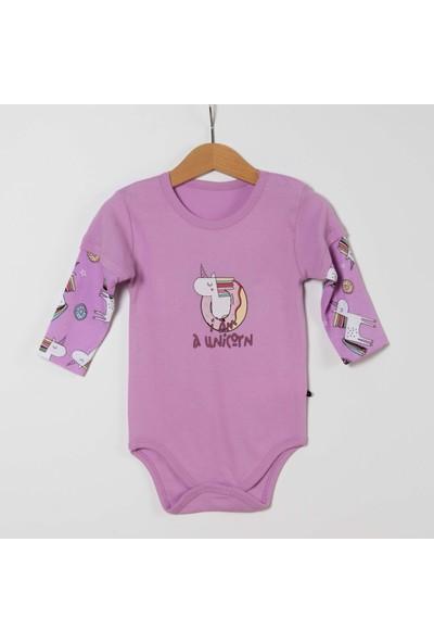 Hello Kitty Unicorn Kız Bebek Badi-Tek Alt-Fular 3 'lü Takım