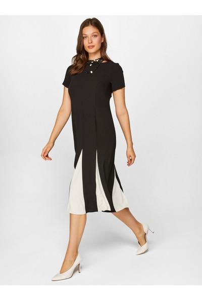 Faik Sönmez Kontrast Elbise 60262
