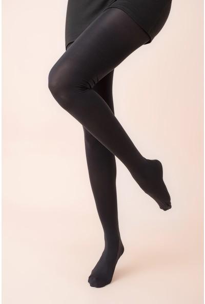 Ardanewline Kadın Siyah Külotlu Kadın Koton Çorap