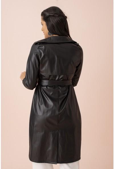 Ardanewline Kadın Siyah Yağmurluk 9404448.01