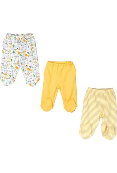 Bebepan Mrs. Nature 3 Lü Patikli Pantolon 0-12 Ay