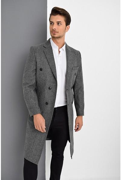 Dewberry Plt8382 Erkek Palto
