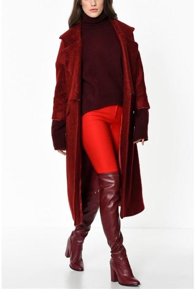 Dewberry Z6415 Dewbeeery Kadın Palto