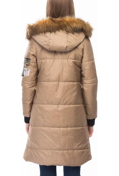 Dewberry Z6561 Kadın Palto