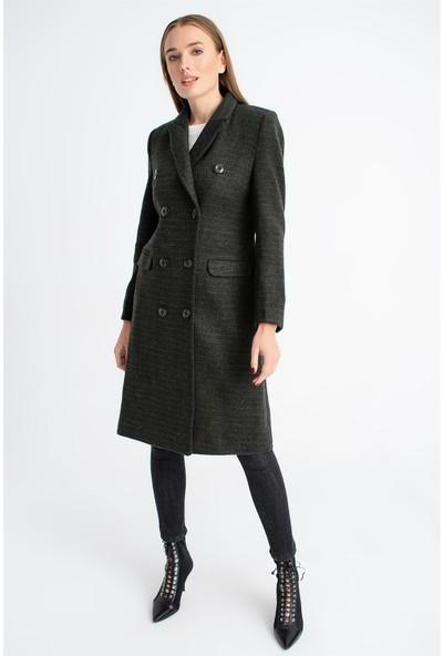 Dewberry Z6619 Kadın Palto