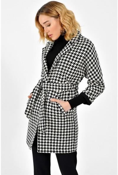Dewberry Z6623 Kadın Palto