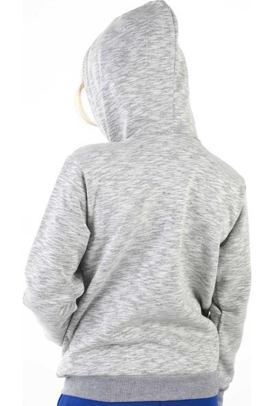 Erd Gri Kışlık Erkek Çocuk Ceket