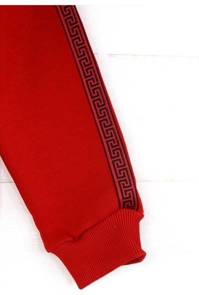 Erd Kırmızı Kışlık Kız Çocuk Sweatshirt
