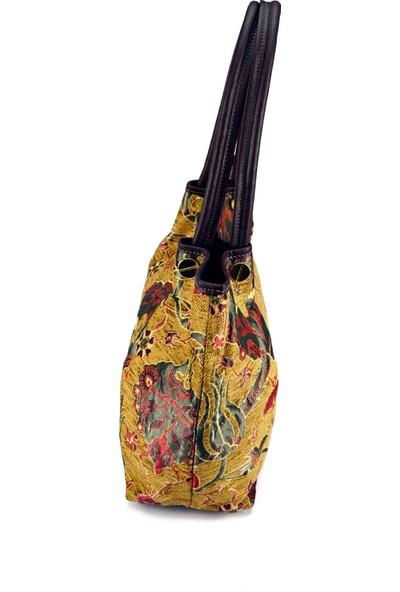 Zaven Osmanlı Desenli Zarif Omuz Çantası