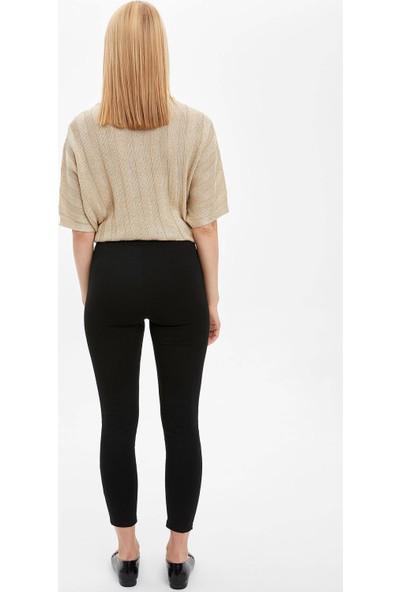 DeFacto Kadın Slim Fit Basic Tayt