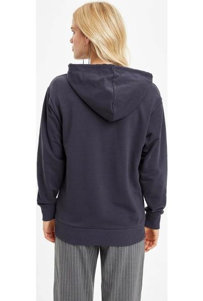 DeFacto Kapüşonlu Sweatshirt N8150AZ19CW