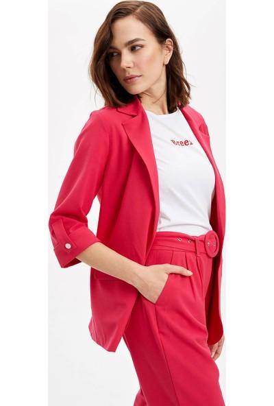 DeFacto Kadın Basic Blazer Ceket