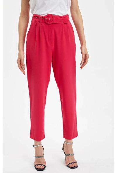 DeFacto Kadın Beli Kemerli Havuç Pantolon