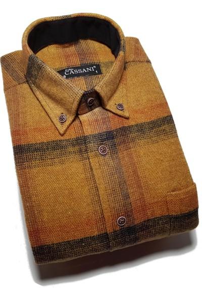 Fabio Cassani Klasik Kışlık Oduncu Gömleği