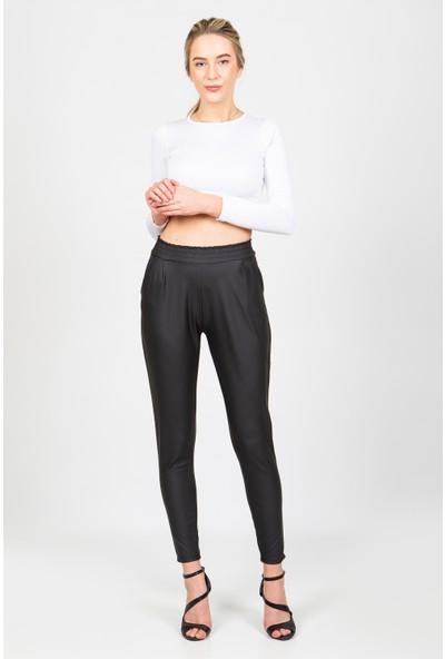Wotto Collection Şalvar Deri Pantolon