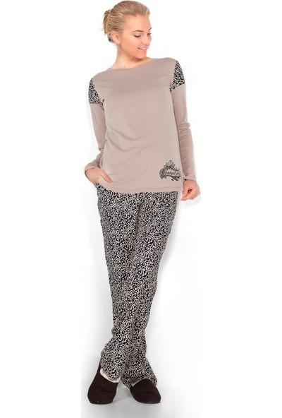 Doremi Classical Desing Kadın Pijama Takımı