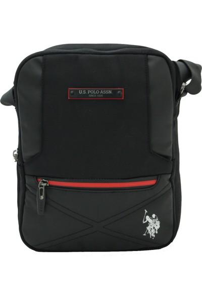 Us Polo Assn Polyester Kumaş Erkek Portföy Çanta Siyah 8404