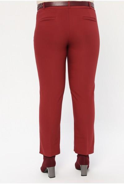 Sln Kadın Kemerli Pantolon