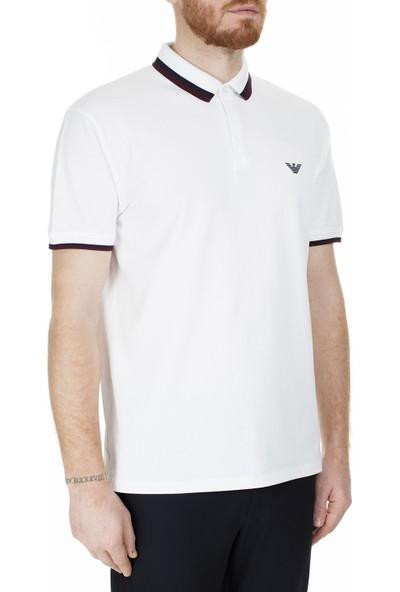 Emporio Armani T Shirt Erkek Polo 6G1FA5 1J46Z 0100