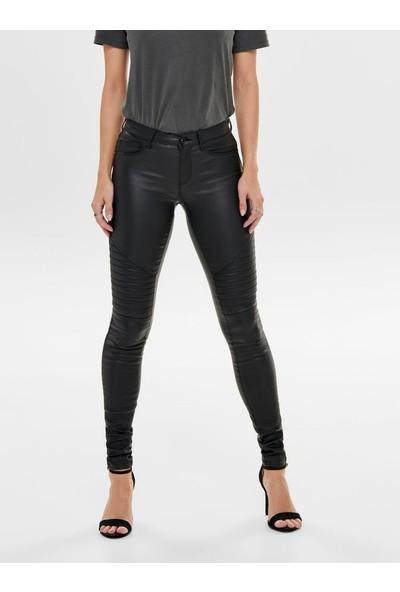 Only Kadın Deri Skinny Pantolon 15121410