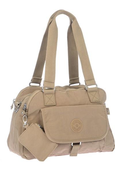 Smart Bags Kadın Vizon Omuz Çantası