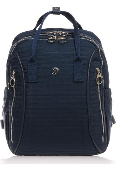 Smart Bags Lacivert Kadın Sırt Çantası SMB3018