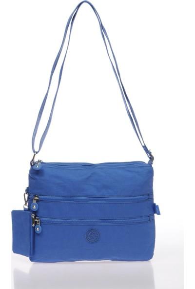 Smart Bags Mavi Kadın Postacı Çantası SMB1185