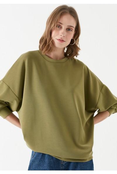Mavi Kadın Yeşil Modal Sweatshirt