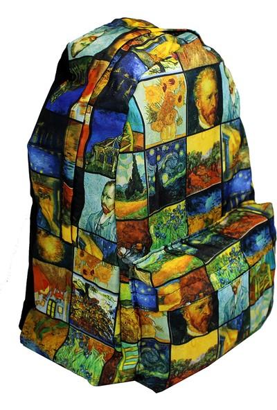 Modaroma Van Gogh Resimler Sırt Çantası