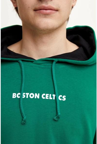 DeFacto Erkek NBA Lisanslı Sweatshirt