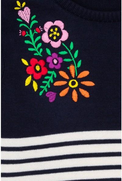 U.S. Polo Assn. Kız Çocuk Triko Kazak 50206138-VR033