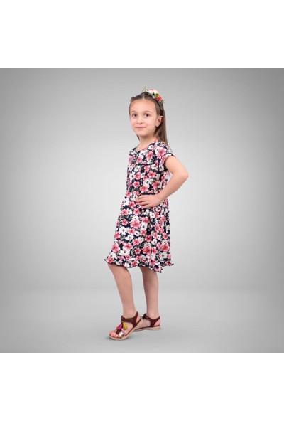 Isobel Penye Çiçekli Elbise