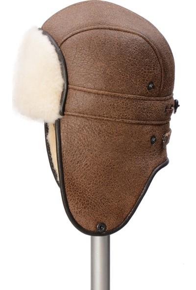 Pegia Hakiki Kürklü Kadın Şapka 19Sb08