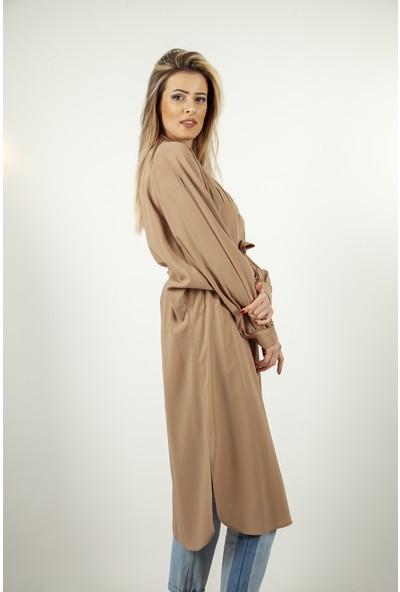 Ardanewline Kadın Camel Tunik 7401287.09