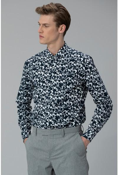 Lufian Erkek Comfort Slim Fit Anke Smart Gömlek