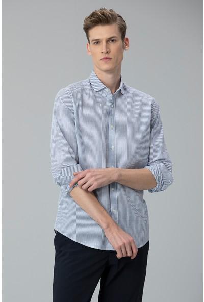 Lufian Erkek Comfort Slim Fit Arca Spor Gömlek