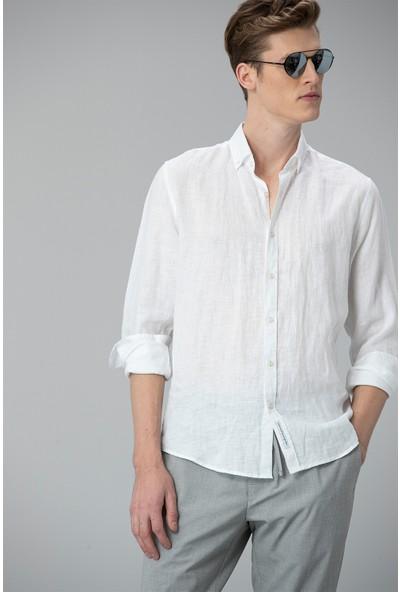 Lufian Erkek Comfort Slim Fit Feira Spor Gömlek