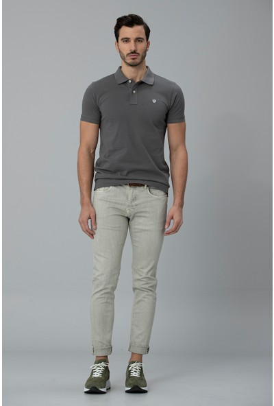 Lufian Erkek Klausı Modern Grafik T- Shirt