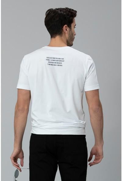 Lufian Erkek Rıck Modern Grafik T- Shirt