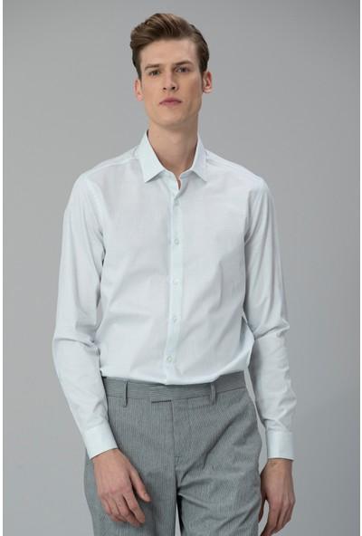 Lufian Erkek Slim Fit Devion Smart Gömlek