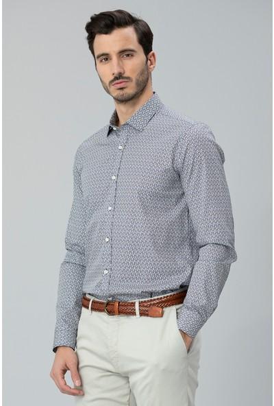 Lufian Erkek Slim Fit Focus Smart Gömlek