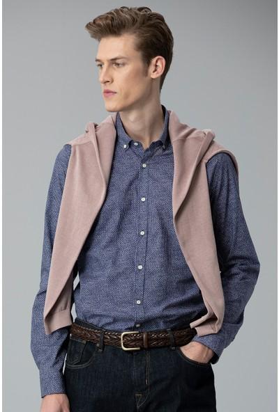 Lufian Erkek Slim Fit Rabi Smart Gömlek