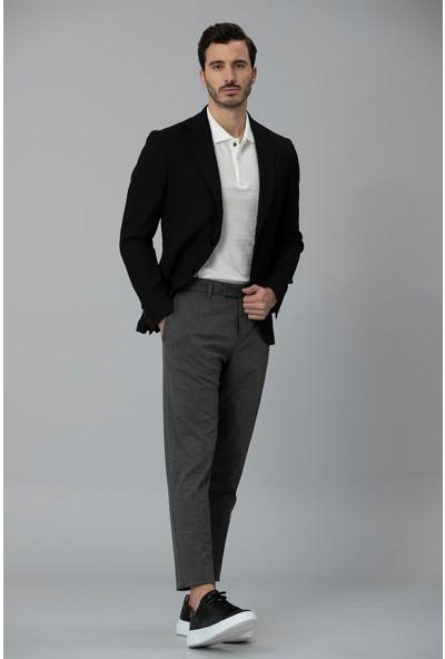 Lufian Erkek Slim Fit Reni Spor Blazer Ceket