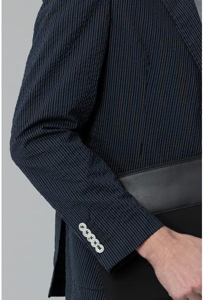 Lufian Erkek Slim Fit Ruby Spor Blazer Ceket