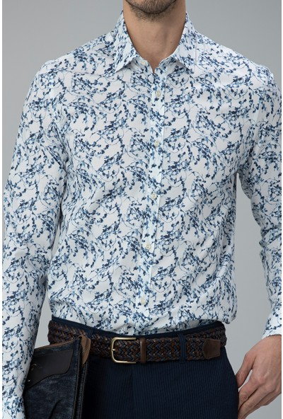 Lufian Erkek Slim Fit Rules Smart Gömlek