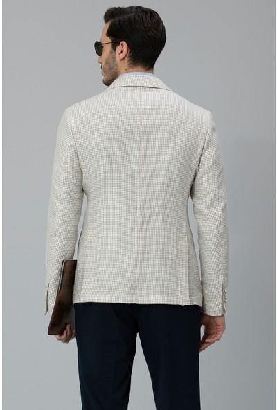 Lufian Erkek Slim Fit Salina Spor Blazer Ceket