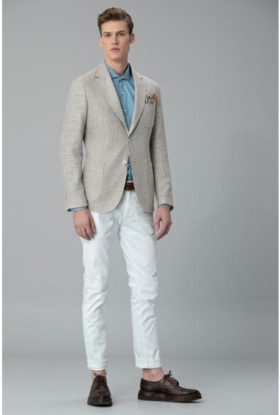 Lufian Erkek Slim Fit Soren Spor Blazer Ceket