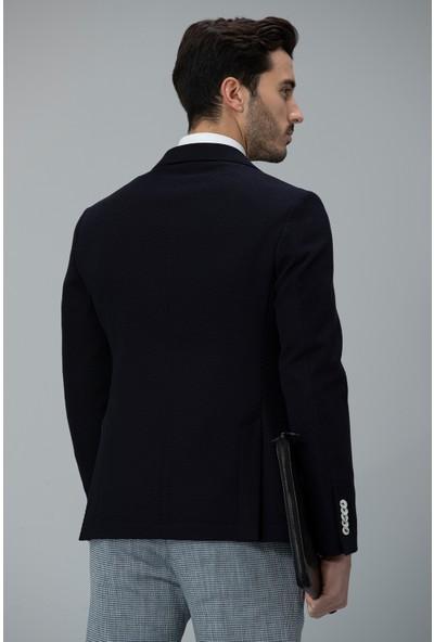 Lufian Erkek Slim Fit Spozia Spor Blazer Ceket